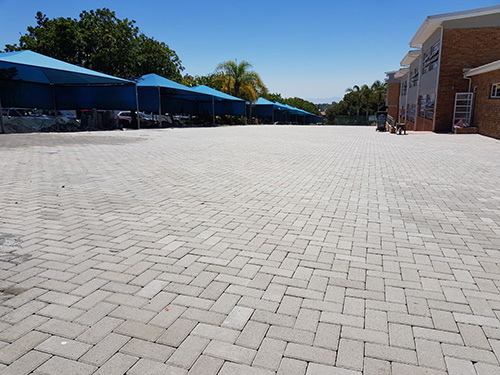 50mm Bond Pavers - Colour: Grey